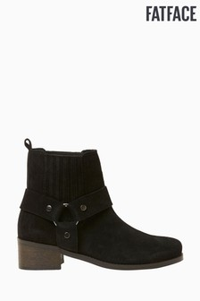 FatFace Black Cromer Chelsea Ankle Boots