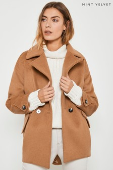 Mint Velvet Cinnamon Pea Coat