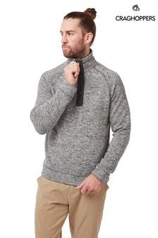 Craghoppers Grey Fernando Half Zip Fleece