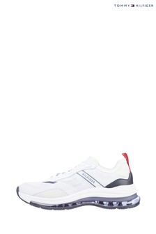 Tommy Hilfiger Red Air Mix Runner Trainers