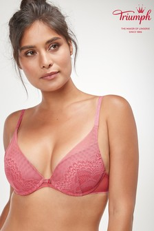 Triumph® Pink Darling Spotlight Wired Half Cup Push Up Bra