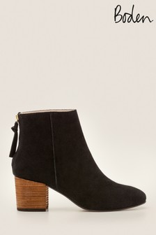 Boden Black Overton Ankle Boots
