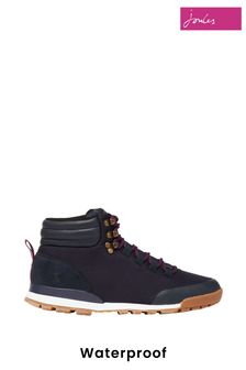 Joules Blue Chedworth Waterproof Hiker Boots