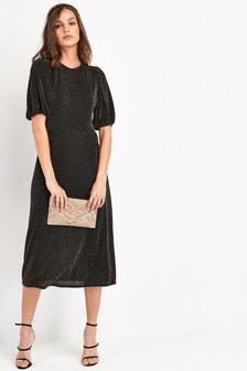 Sparkle Jersey Midi Dress