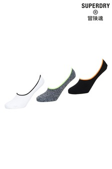 Superdry Coolmax Invisible Socks Three Pack