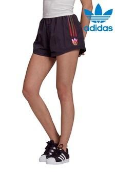 adidas Originals 3 Stripe Rainbow Shorts