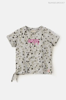 Angel & Rocket Amazing Animal Foil Print Tie Side T-Shirt