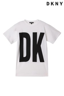 DKNY White Logo T-Shirt
