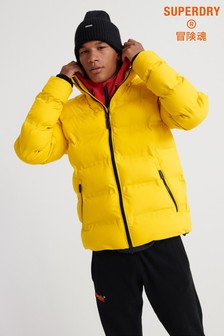 Superdry Yellow Padded Jacket