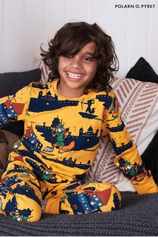 Polarn O. Pyret Gold GOTS Organic Robin Hood Pyjamas