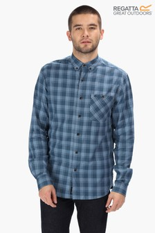 Regatta Blue Lazare Long Sleeve Shirt