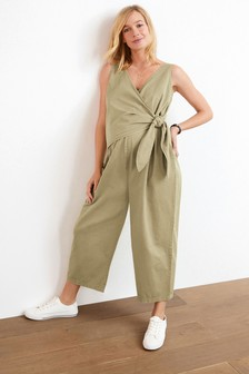 Maternity Wrap Over Jumpsuit