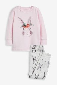 Пижамный комплект с кроликами  (9 мес. - 8 лет)