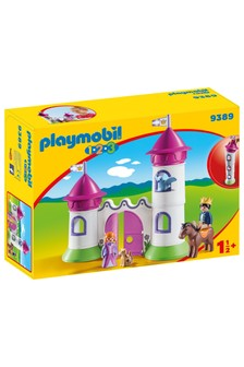 Playmobil® 9389 1.2.3 Castle With Stackable Towers