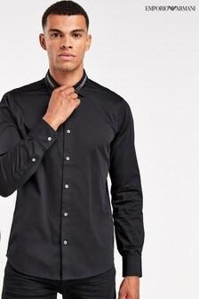 Emporio Armani Collar Detail Shirt
