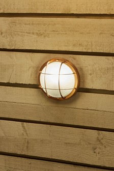 Copper Bulk Head Wall Light by Pacific Lifestyle