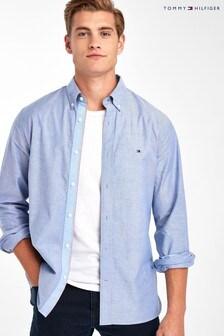 Tommy Hilfiger Blue Organic Oxford Shirt