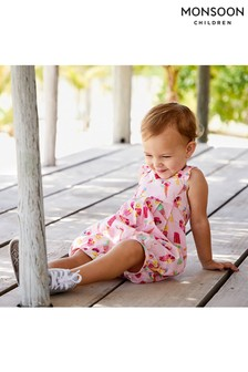 Monsoon S.E.W Baby Erica Ice Cream Jumpsuit