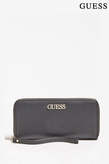 Guess Black Alby Cassic Purse