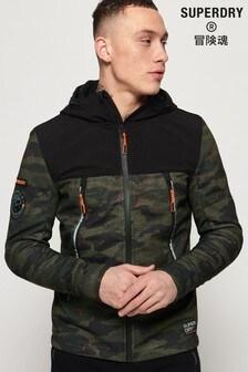Superdry Softshell Camo Hybrid Jacket