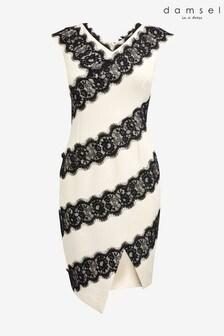 Damsel In A Dress Black Martyne Lace Dress