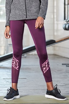Animal Colourblock Leggings