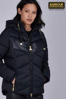 Barbour® International Hooded Contrast Panel Lydden Jacket