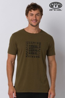Animal Green Durley Deluxe Graphic T-Shirt