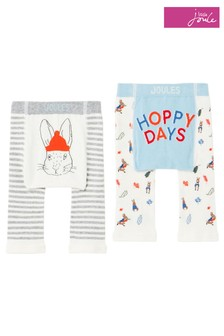 Joules Cream Peter Rabbit Lively Leggings Two Pack