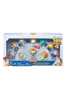 Toy Story 4 Mini Figures 10 Pack Character Collection