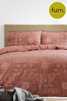 Bohemian Duvet and Pillowcase Set by Furn