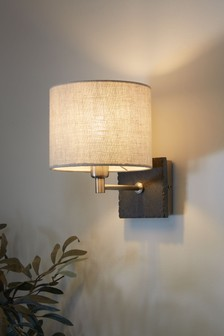 French Slate Wall Light