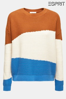 Esprit Colour Block Sweater
