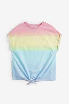 Tie Front Ombre T-Shirt (3-16yrs)