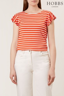 Hobbs Orange Nessie Top