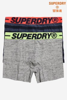 Superdry Organic Cotton Boxers Two Pack