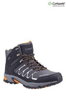 Cotswolds Grey Abbeydale Mid Hiker Boots