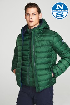North Sails Green Skye Hooded Jacket