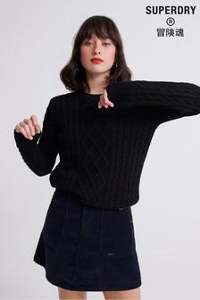 Superdry Amelia Premium Cable Knit Jumper