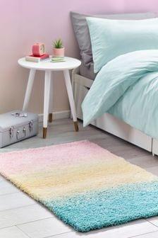 Pink Super Soft Ombre Rug