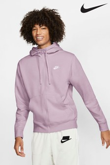Nike Club Fleece Zip Through Hoodie
