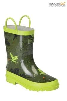 Regatta Green Minnow Junior Wellies