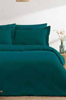 Cotton Waffle Duvet Cover and Pillowcase Set by Riva Home