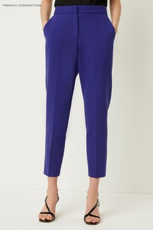French Connection Blue Sundae Suiting Tailored Trouser