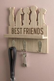 Pet Hooks with Shelf