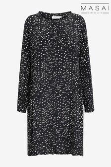 Masai Black Nelly Shirt Dress