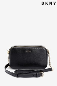DKNY Bryant Park Leather Crossbody Camera Bag