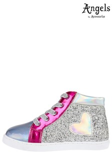 Angels by Accessorize Multi High Top Trainers