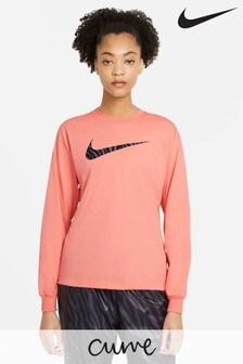 Nike Curve Icon Clash Long Sleeve T-Shirt