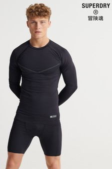 Superdry Training Compression Long Sleeved T-Shirt